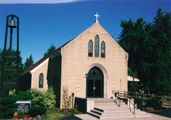 St Philip Church, built in 1959